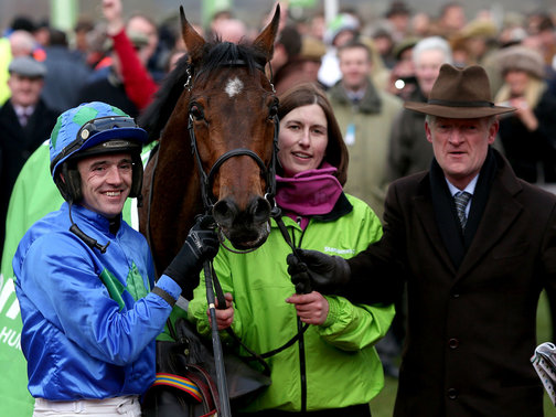 Ruby Walsh, Hurricane Fly and Willie Mullins... A bookie's worst nightmare came true on Day 1