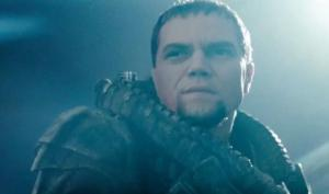 General Zod - Evidently someone interrupted him during shaving.