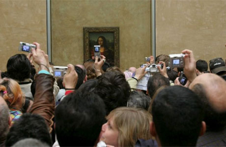 O yea... Just seeing the #mona #lisa at the #louvre... #omg #totesamazing #jealousmuch?