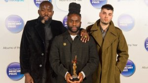Young Fathers show off the 2014 Mercury Music Prize