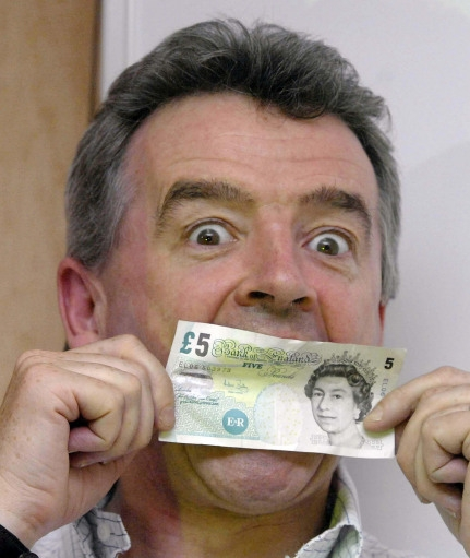 Michael O'Leary - Money sustains him